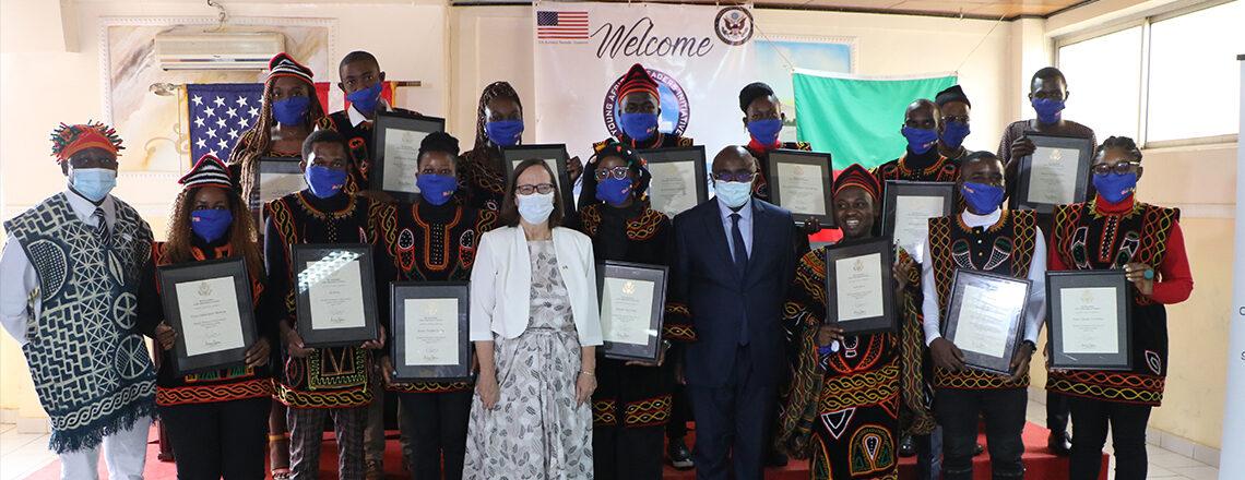 U.S. Embassy Yaoundé Congratulates 2021 Class of YALI MWF on a Successful Completion