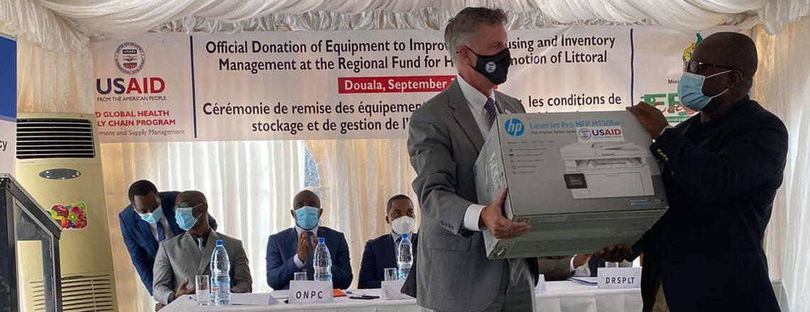 Le gouvernement U.S fait don d'équipements au Fonds régional pour la promotion de la santé