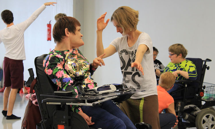 DanceAbility Workhop in Helsinki (© State Dept.)