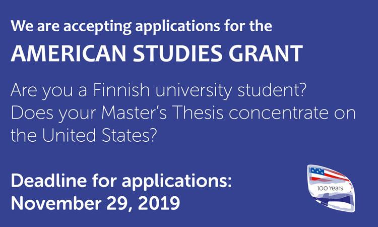 American Studies Grant 2019