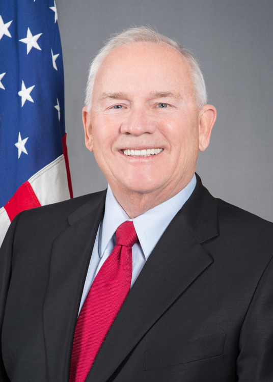 Photo of Ambassador Robert Frank Pence