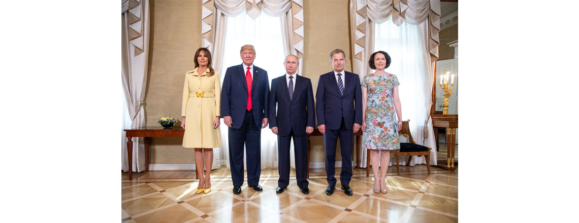 President Trump & the First Lady's Trip to Helsinki