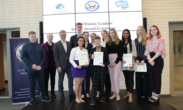 Future Leaders 2019 Award Ceremony (© State Dept.)