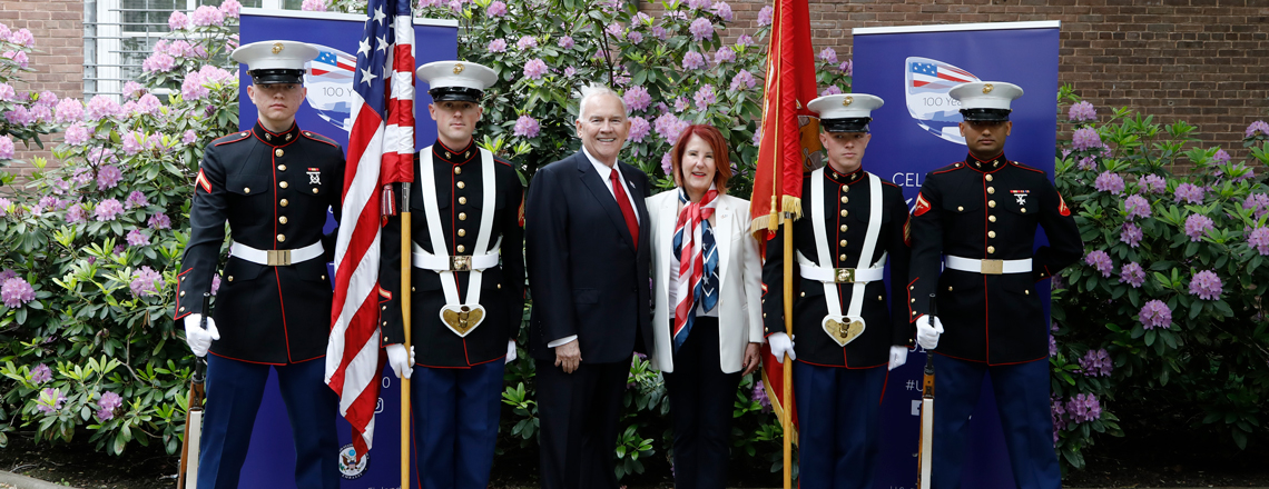 U.S. Embassy in Helsinki Celebrates the 243rd Independence Day of the United States