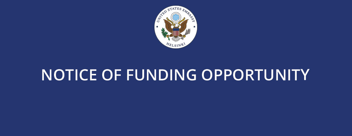 Notice of Funding Opportunity (NOFO) for Fiscal Year 2021 – Small Grants Program