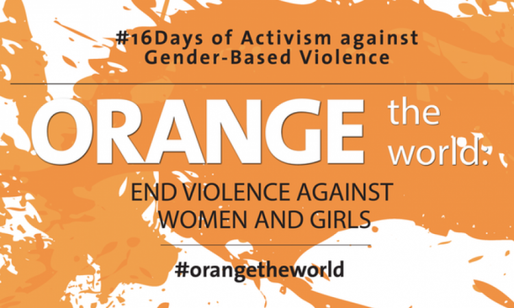 International campaign: 16 Days of activism against gender-based violence in Armenia