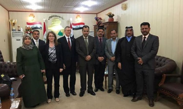 Consul General Visit to Muthanna