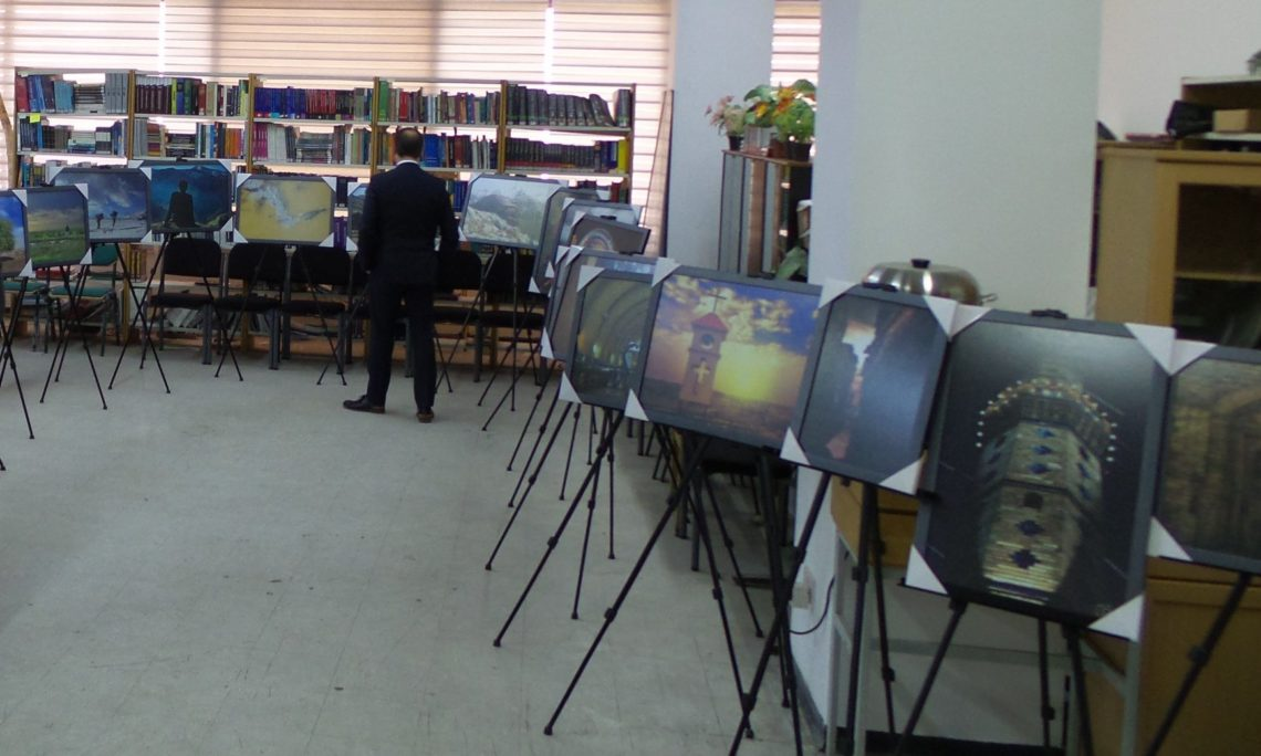The U S  Embassy holds an exhibit showcasing #MyIraq contest