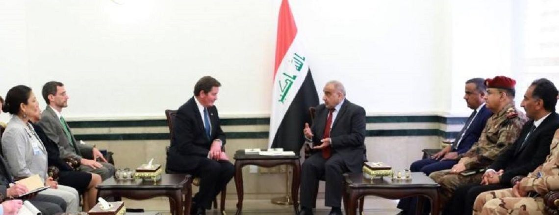 Delegation from the U.S. House of Representatives' Armed Services Committee visits Baghdad