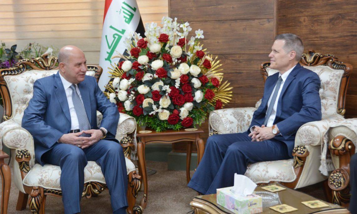 Ambassador Tueller meets with Iraqi Minister of Justice Faruq Amin Shwani 66302655_10157417454254304_4447848791499866112_o-1140x684