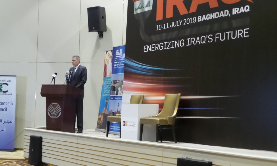 Ambassador Tueller at the 2019 Powering Iraq Conference 66478666_10157452668194304_6722921980695150592_o-1140x684