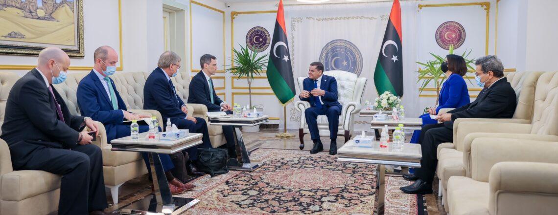 زيارة مساعد وزير الخارجية بالإنابة جوي هود والمبعوث الخاص ريتشارد نورلاند إلى ليبيا