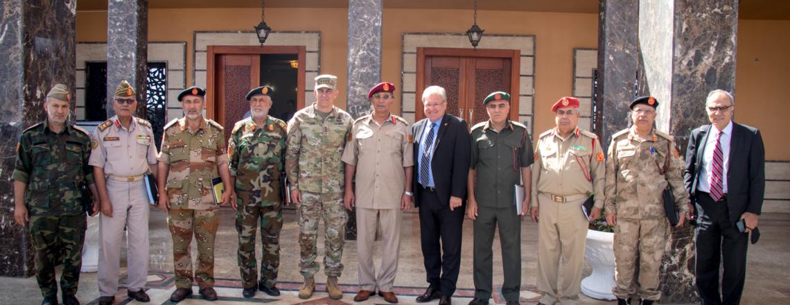 الإجتماع الحضوري للجنة العسكرية المشتركة 5+5 في طرابلس