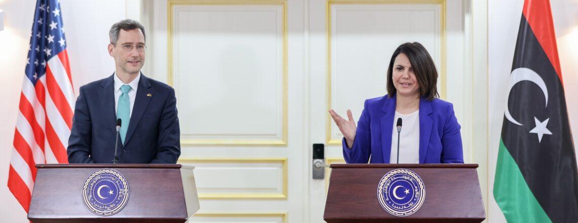 تصريح مساعد وزير الخارجية بالإنابة جوي هود لوسائل الإعلام في طرابلس