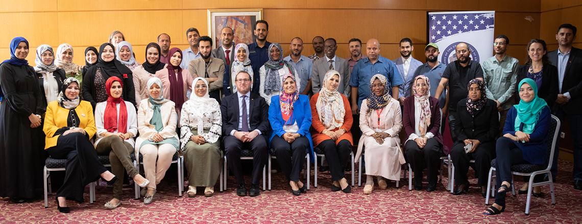 34 Ministry of Education teacher trainers finished a two-week workshop on teaching English