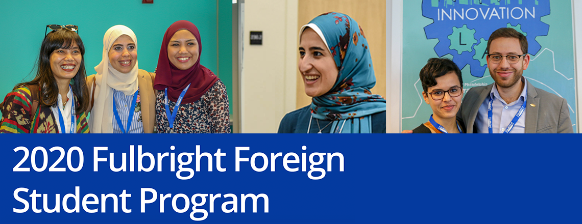 Fulbright Foreign Student Program 2020