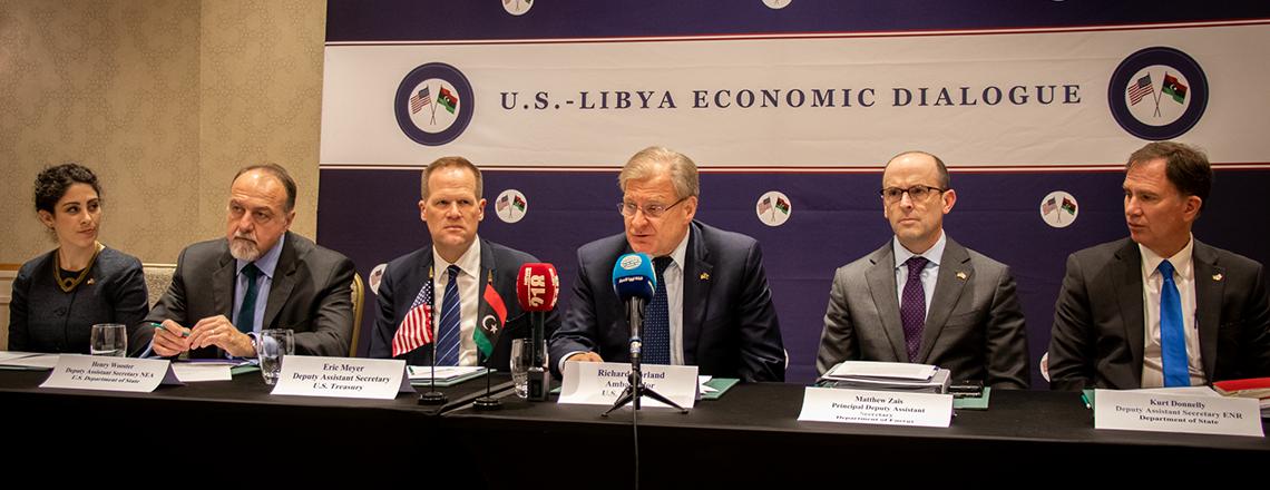 The 10th U.S.-Libya Economic Dialogue