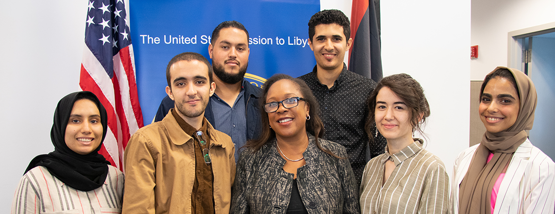 Six students from Libya will join the MEPI Student Leaders Program in the U.S.