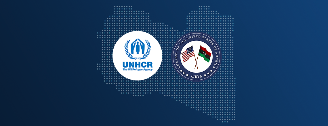 UNHCR-Libya Chief of Mission Briefs US Ambassador on Support to Vulnerable Populations