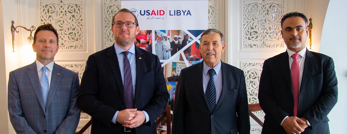 الولايات المتحدة وحكومة ليبيا توقعان مذكرة إعلان نوايا