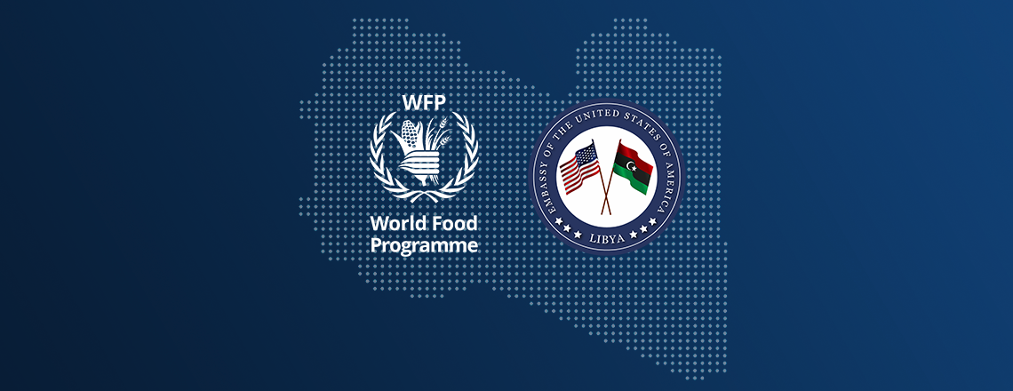 World Food Programme Director Briefs U.S. Ambassador on Aid to Vulnerable Families