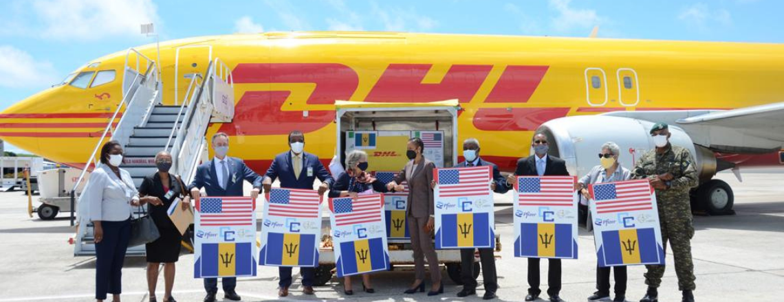 United States Donates Pfizer Vaccines to Barbados, Eastern Caribbean