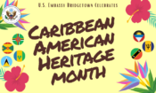 Caribbean-American Heritage Month Banner