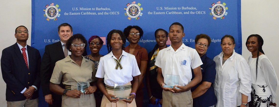 Christ Church Foundation wins U.S. Embassy's Black History Month School Speech Competition