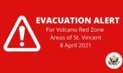 Evacuation Alert Webpage