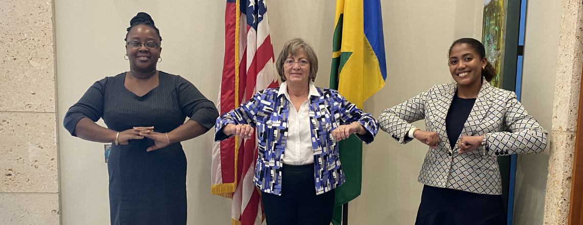 Two Vincentians Head to the US on the Hubert Humphrey Fellowship