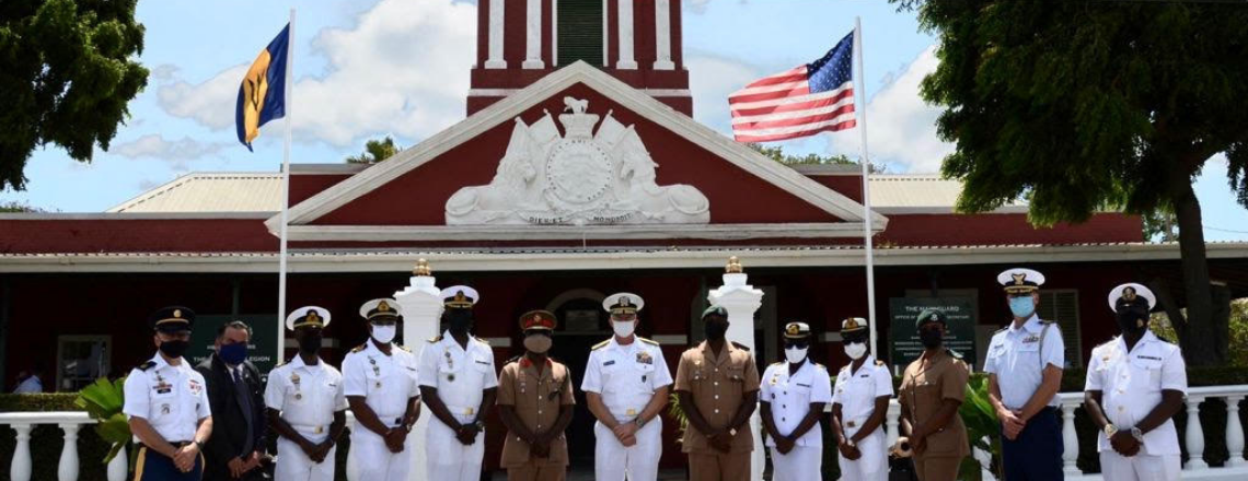 SOUTHCOM Commander Completes Visit with 'Vital Security Partner' Barbados