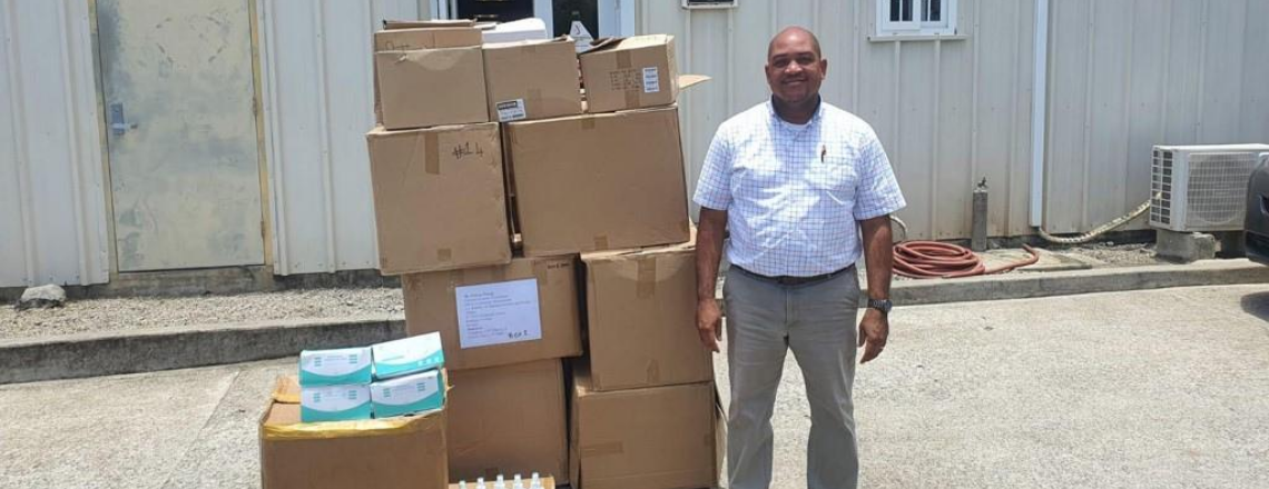 US provides Masks, PPE to Assist in COVID Control in Dominica