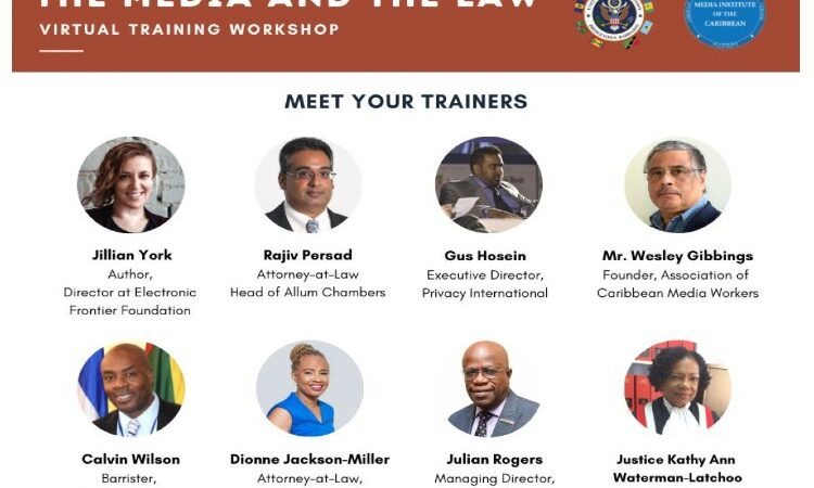 Media and the Law Trainers
