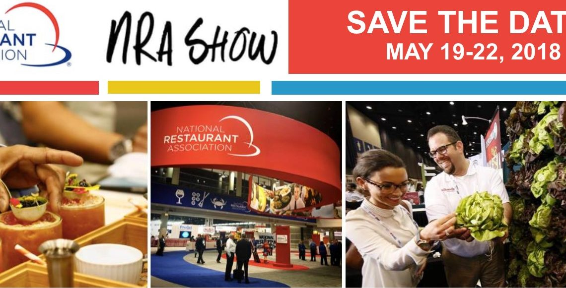 Save the date for the National Restaurant Association Hotel-Motel