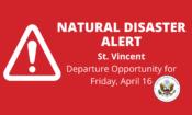 Natural Disaster Alert Barbados Webpage – Transit