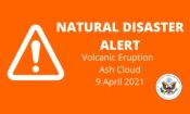 Natural Disaster Alert Webpage