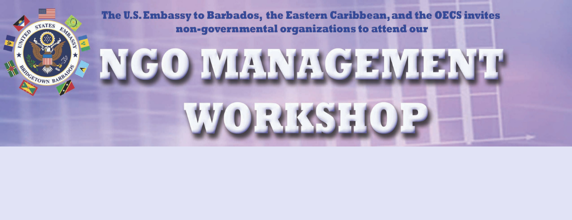Apply for our Non-Governmental Organization Management Workshop