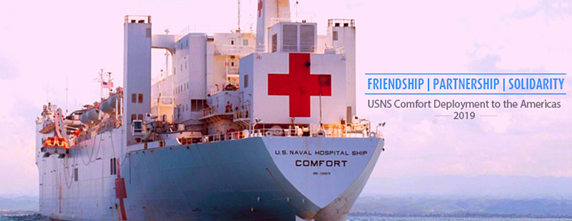 USNS Comfort Hospital Ship to visit Grenada, St. Lucia and St. Kitts and Nevis