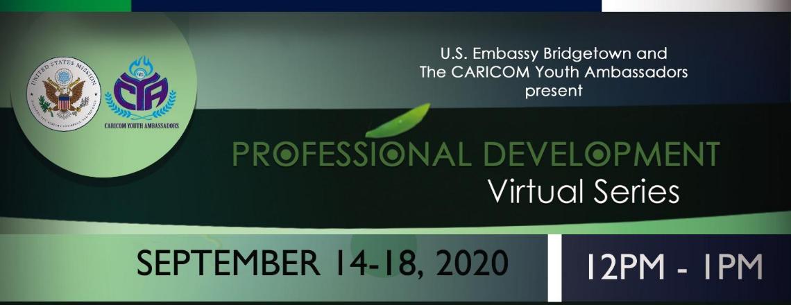 U.S. Embassy Bridgetown and CYA to host Professional Development Series