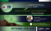 Professional Development Series Webpage Header