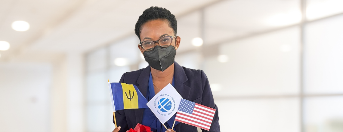 Barbadian Heads to the United States on the Prestigious U.S. Fulbright Program