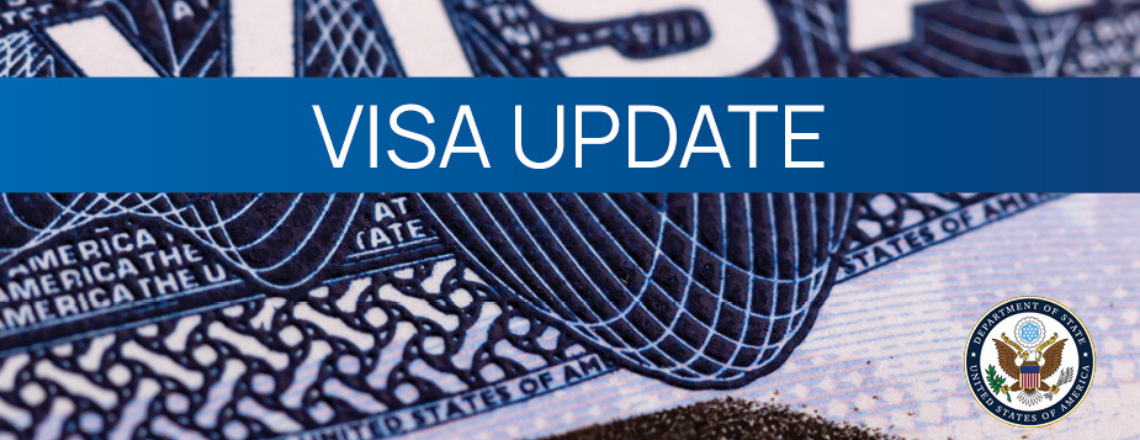 Non-immigrant Visa Appointments Update