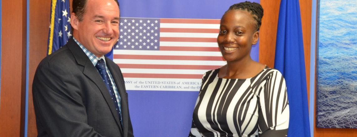 Antiguan Journalist participates in U.S. Sponsored Edward R. Murrow Program for Journalist