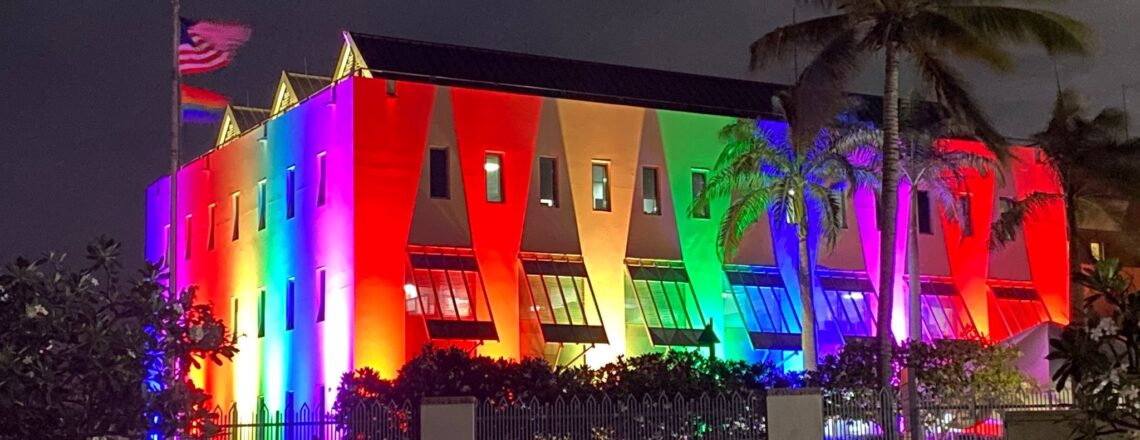 Statement on the Pride Month Illumination of the U.S. Embassy