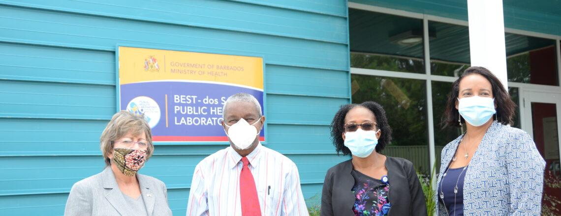 U.S. Support Best-dos Santos Public Health Laboratory, Barbados
