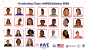 Webpage Header – AWE 2nd Cohort Graduation Press Release