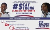 Webpage Header – Black History Month Speech Competition