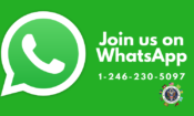WhatsApp Announcement Webpage Header