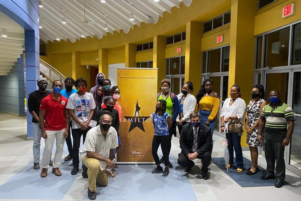 U S Embassy And Uwi Screen Broadway Musical Hamilton U S Embassy In Barbados The Eastern Caribbean And The Oecs