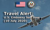 Travel Alert (July 10, 2020)